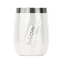 EcoVessel - Kubek termiczny Port - Biały 296 ml