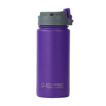 EcoVessel - Butelka termiczna Perk - Fioletowa 473 ml