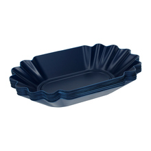 Rhinowares Coffee Gear Blue Oval Cupping Trays - Tacki cuppingowe 12 sztuk