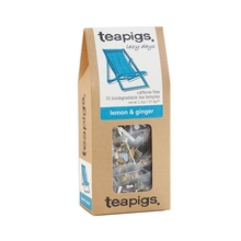 teapigs Lemon & Ginger 15 piramidek (outlet)