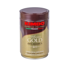 Kimbo Aroma Gold - Mielona - Puszka 250g