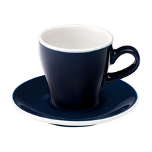 Loveramics Tulip - Filiżanka i spodek Cappuccino 180 ml - Denim