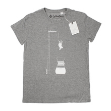 Koszulka Coffeedesk Chemex Szara - Męska XL