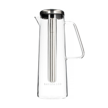 Barista & Co - Glass Ice Bar Coffee Jug Electric Steel - Dzbanek chłodzący
