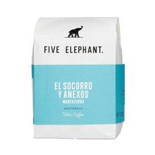 Five Elephant Guatemala Palencia El Socorro y Anexos Natural FIL 250g, kawa ziarnista (outlet)
