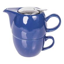 Mount Everest Tea - zestaw do herbaty Tea For One Niebieski