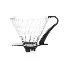 Hario szklany Drip  V60-03 - Czarny (outlet)
