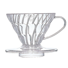Hario plastikowy Drip  V60-01 clear (outlet)