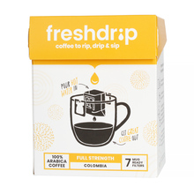 Freshdrip Yellow Colombia full-strength (box of 7) 7 saszetek (outlet)