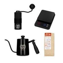 Zestaw Prezentowy: Waga + Czajnik + Młynek + Kawa