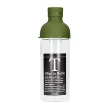 Hario butelka z filtrem Cold Brew Tea - oliwkowa zieleń 300 ml