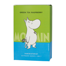 Teministeriet - Moomin Green Tea Raspberry - Herbata 20 piramidek