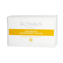Althaus - Rooibush Strawberry Cream Grand Pack - Herbata 20 dużych saszetek