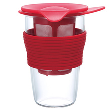 Hario - Handy Tea Maker - Czerwony 350ml
