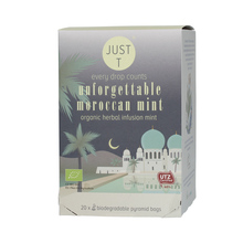 Just T - Unforgettable Moroccan Mint - 20 Torebek