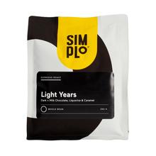 SIMPLo Light Years Brazylia Natural Minas Gerais & Peru Washed ESP 250g, kawa ziarnista (outlet)