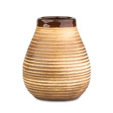 Mate Rustico - Ceramiczne  naczynie do yerba mate - Brązowe