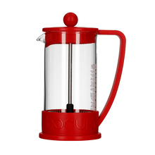 Bodum Brazil French Press 3 cup - 350 ml Czerwony