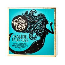 Willie's Cacao - Czekoladki - Praline Truffles Milk Chocolate with Sea Salt 35g (outlet)