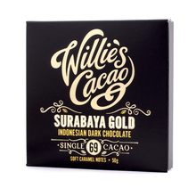 Willie's Cacao - Czekolada 69% - Surabaya Gold Indonezja 50g