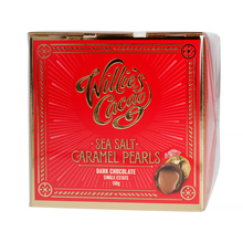 Willie's Cacao - Czekoladki - Sea Salt Caramel Black Pearls 150g