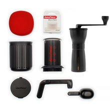Zestaw AeroPress Go + Hario Mini Mill Slim Plus