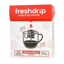 Freshdrip - Red Ethiopia Medium-Strength - 7 saszetek