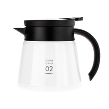 Hario Insulated Stainless Steel Server V60-02 - Biały - 600ml