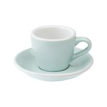 Loveramics Egg - Filiżanka i spodek Espresso 80 ml - River Blue