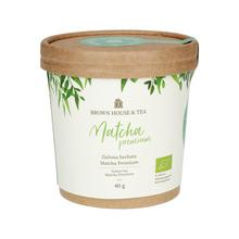 Brown House & Tea - Matcha Premium - Herbata matcha 40g