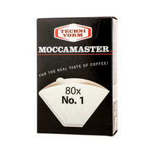 Moccamaster filtry papierowe nr 1 (outlet)