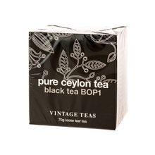 Vintage Teas Pure Ceylon Tea - Black Tea BOP1 70g (outlet)