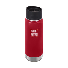 Klean Kanteen - Butelka termiczna Wide Vacuum Insulated - Mineral Red 473ml