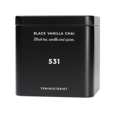 HERBATA MIESIĄCA: Teministeriet - 531 Black Vanilla Chai - Herbata Sypana 100g