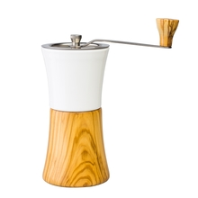Hario - Ceramic Coffee Mill Olive Wood