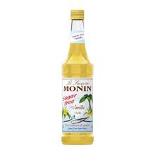 Monin Vanilla Sugar Free - Syrop Bezcukrowy Waniliowy 0,7L