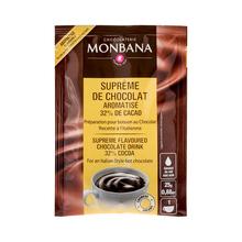 Monbana Supreme Chocolate o waniliowym smaku  – saszetka 25g (outlet)