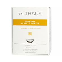 Althaus - Rooibos Vanilla Toffee Pyra Pack - Herbata 15 piramidek