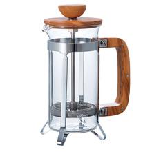 Hario Cafe Press - Olive Wood - 300ml