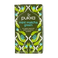 Pukka - Mint Matcha Green BIO - Herbata 20 saszetek