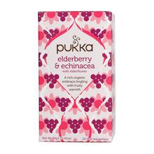Pukka - Elderberry & Echinacea BIO - Herbata 20 saszetek