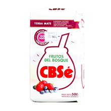 CBSe Frutos del Bosque - yerba mate 500g