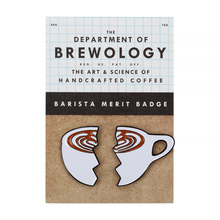 Department of Brewology - Przypinka Split Latte