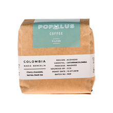 Populus Coffee Colombia Maria Bercelia Washed 250g, ziarno (outlet)