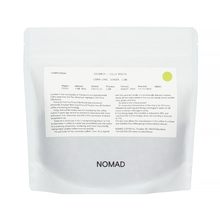 Nomad Colombia Cauca VIlla Rosita Lime Process Washed FIL 200g, kawa ziarnista (outlet)