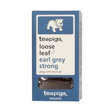 teapigs Earl Grey Strong Organic - herbata sypana 100g