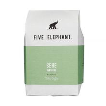 Five Elephant Burundi Sehe Collective Natural Bourbon FIL 284g, kawa ziarnista (outlet)