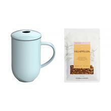 Zestaw: Kubek z zaparzaczem Loveramics Pro Tea + Herbata Solberg & Hansen