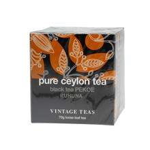 Vintage Teas Pure Ceylon Tea - Black Tea PEKOE 70g
