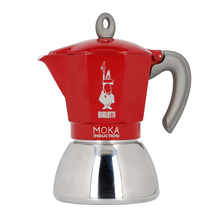 Bialetti kawiarka New Moka Induction 6tz czerwona (outlet)